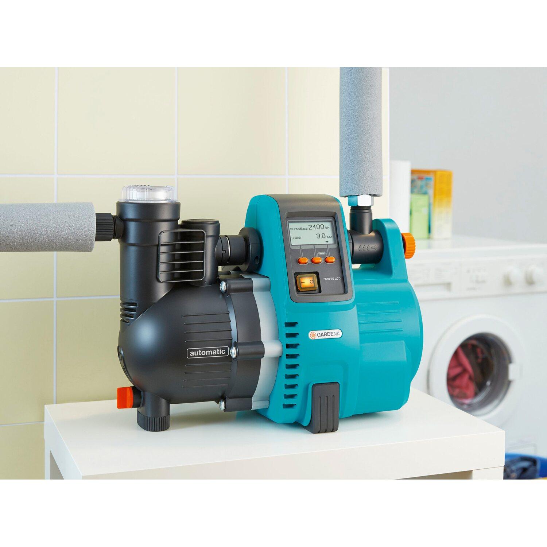 gardena hauswasserautomat comfort 5000/5e lcd