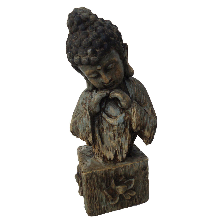 silex buddha polystone 15 5 cm x 14 cm x 34 5 cm kaufen. Black Bedroom Furniture Sets. Home Design Ideas