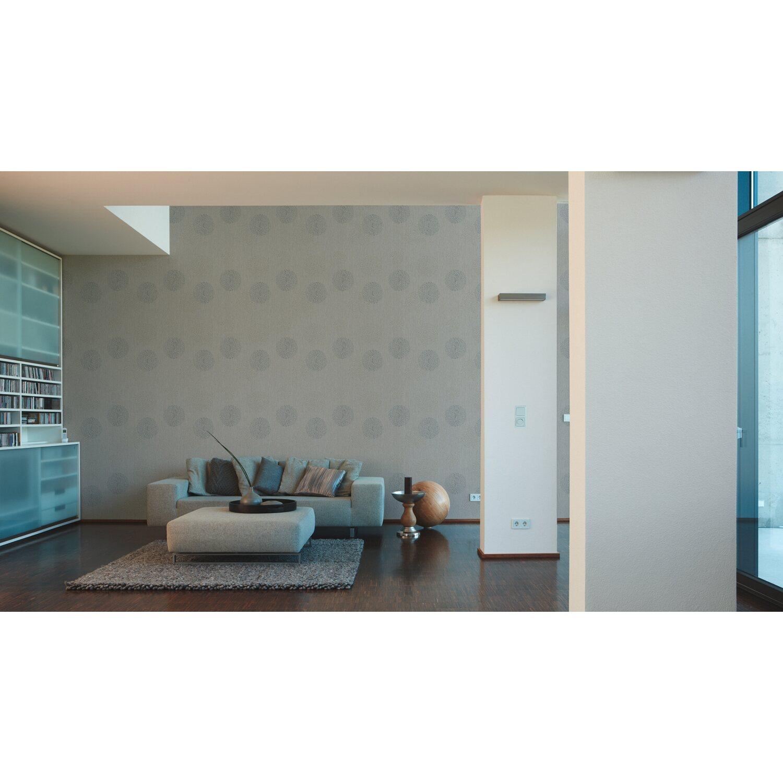Gut bekannt Finest Selection Vliestapete Spot 2 Muster Grau kaufen bei OBI KX31