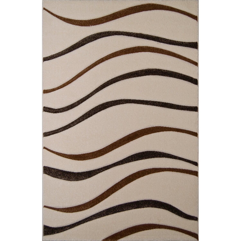 Teppich Ventus 10821 Bone 140 cm x 200 cm   Heimtextilien > Teppiche > Sonstige-Teppiche