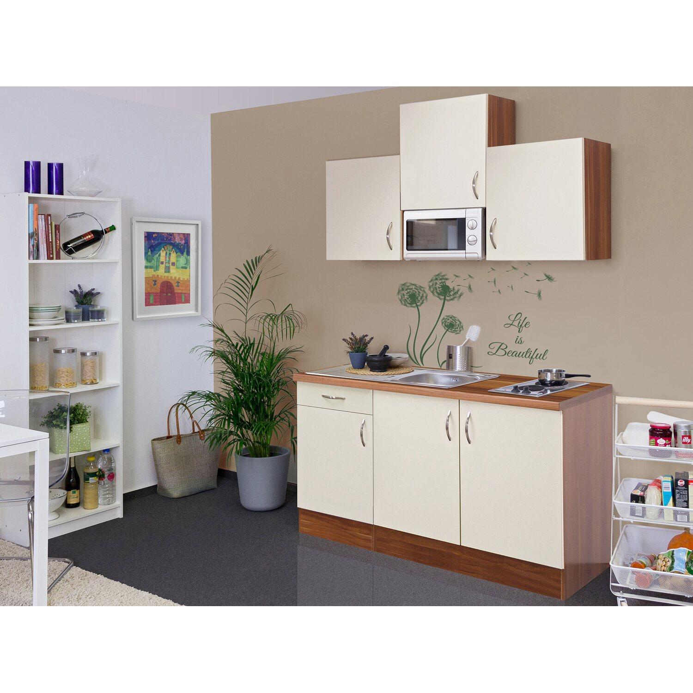 flex well exclusiv singlek che sienna 150 cm breit creme zwetschge nachbildung kaufen bei obi. Black Bedroom Furniture Sets. Home Design Ideas