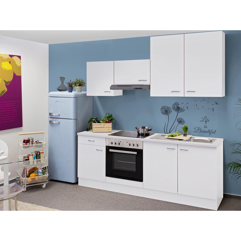 flex well classic k chenzeile wito 210 cm wei kaufen bei obi. Black Bedroom Furniture Sets. Home Design Ideas