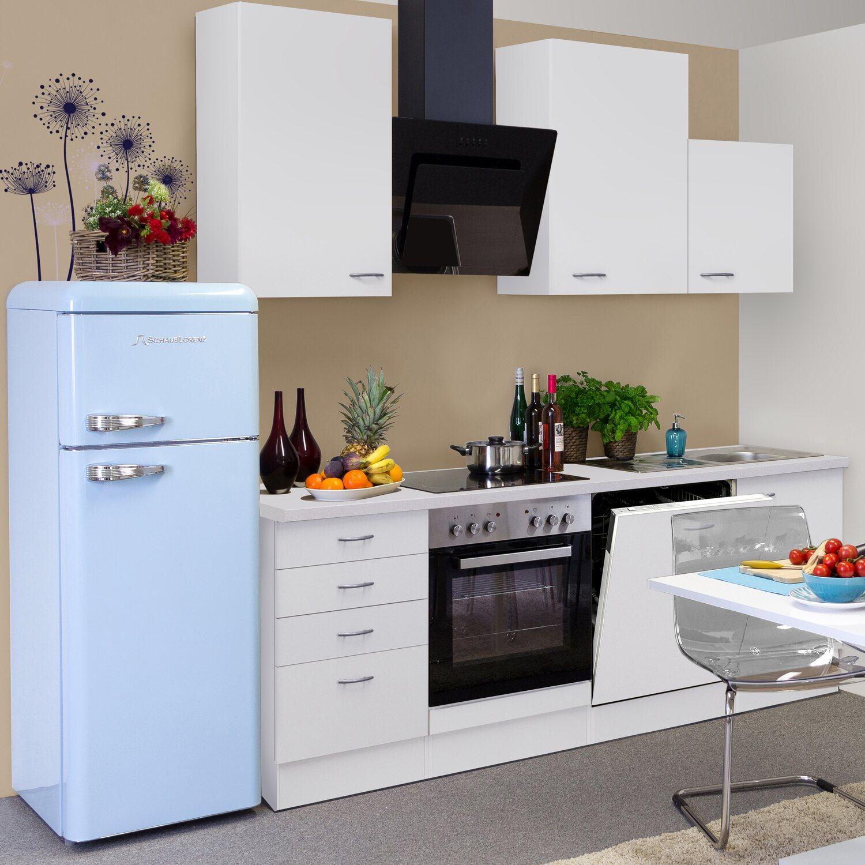 Flex-Well Classic Küchenzeile Wito 220 cm Weiß kaufen bei OBI