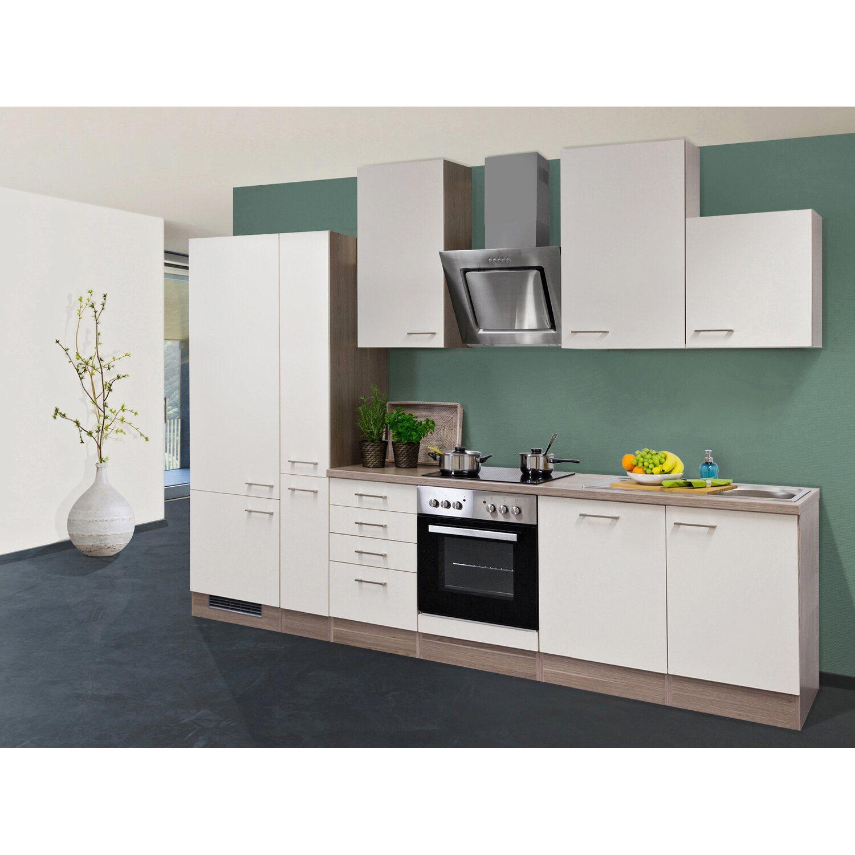 flex well exclusiv k chenzeile eico 310 cm magnolienwei tennessee eiche kaufen bei obi. Black Bedroom Furniture Sets. Home Design Ideas