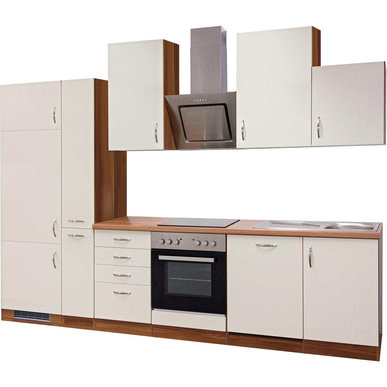 flex well exclusiv k chenzeile sienna 310 cm creme zwetschge nachbildung kaufen bei obi. Black Bedroom Furniture Sets. Home Design Ideas