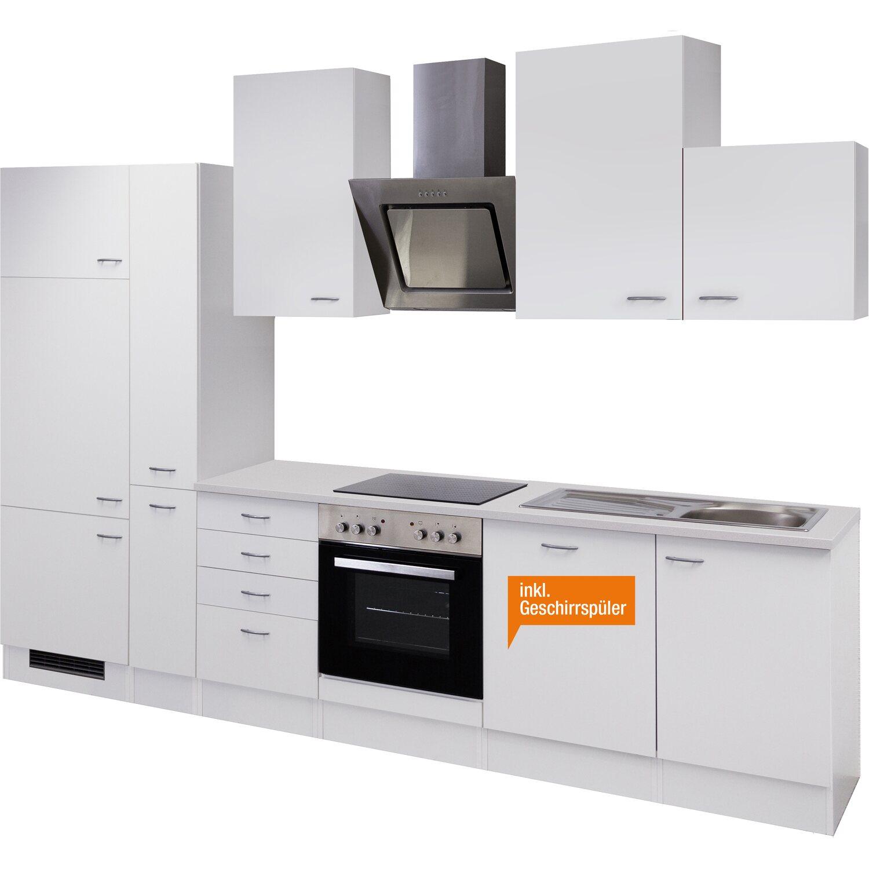Flex-Well Classic Küchenzeile Wito 310 cm Weiß kaufen bei OBI