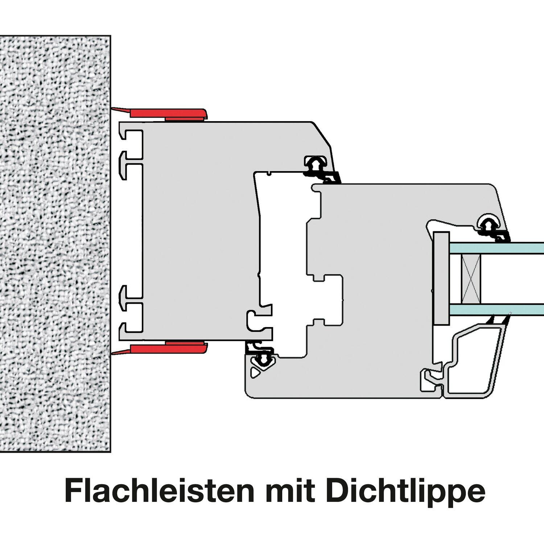 Flachleiste Mit Dichtlippe Weiss 5 Cm X 200 Cm Selbstklebend Kaufen Bei Obi