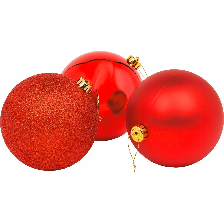 Weihnachtskugeln Xxl.Xxl Baumkugel ø 20 Cm Rot Kaufen Bei Obi