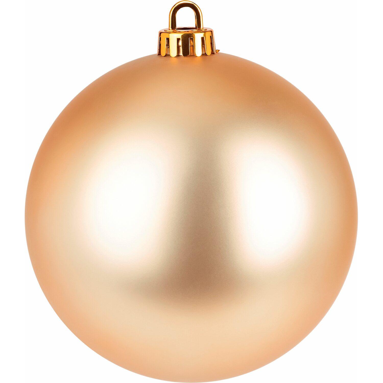 Weihnachtskugeln Xxl.Xxl Baumkugel ø 20 Cm Gold Kaufen Bei Obi