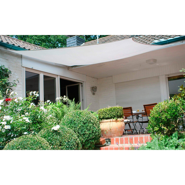 sonnensegel rechteckig online kaufen bei obi. Black Bedroom Furniture Sets. Home Design Ideas