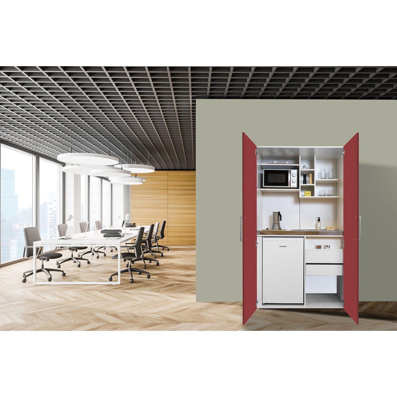 Respekta Schrankküche SKWRMIC reversibel Rot-Weiß   Küche und Esszimmer > Küchen > Miniküchen   Respekta
