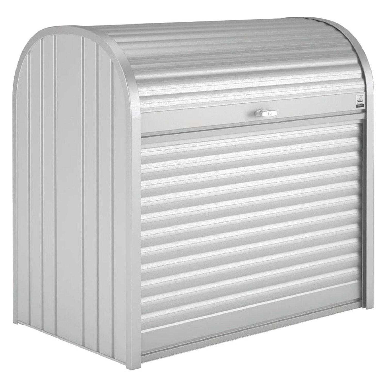 Biohort Storemax 120 Gartenbox Silber Metallic