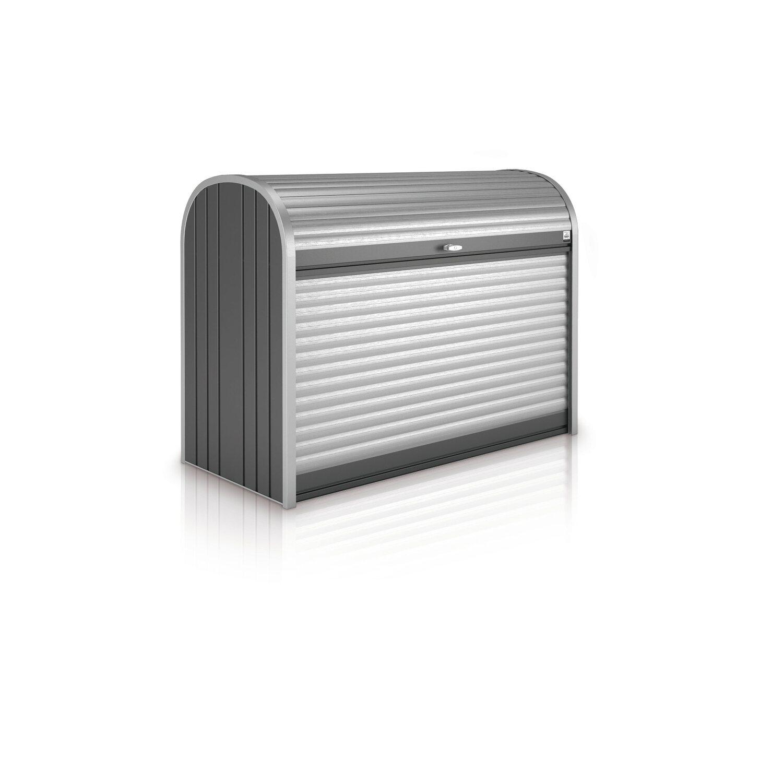 Biohort StoreMax 120 Gartenbox Dunkelgrau-Metallic | Garten > Gartenmöbel > Aufbewahrung | Biohort