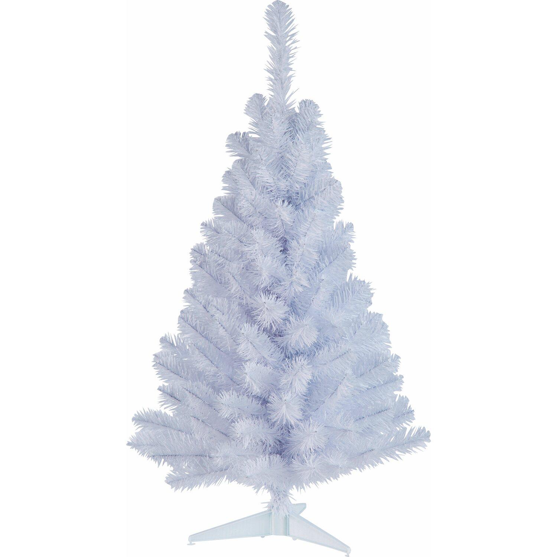 k nstlicher weihnachtsbaum 90 cm wei kaufen bei obi. Black Bedroom Furniture Sets. Home Design Ideas
