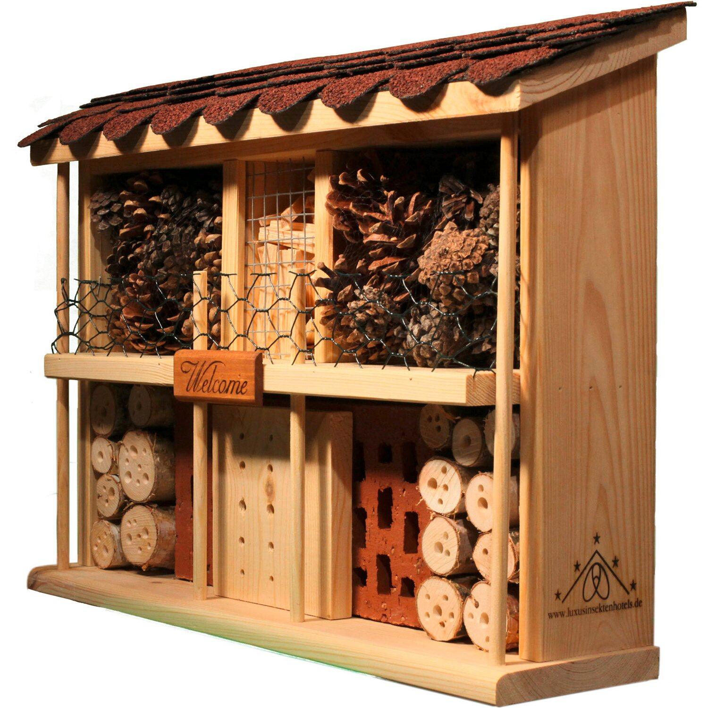 Dobar Insektenhotel Bausatz Landhaus Komfort Kaufen Bei Obi