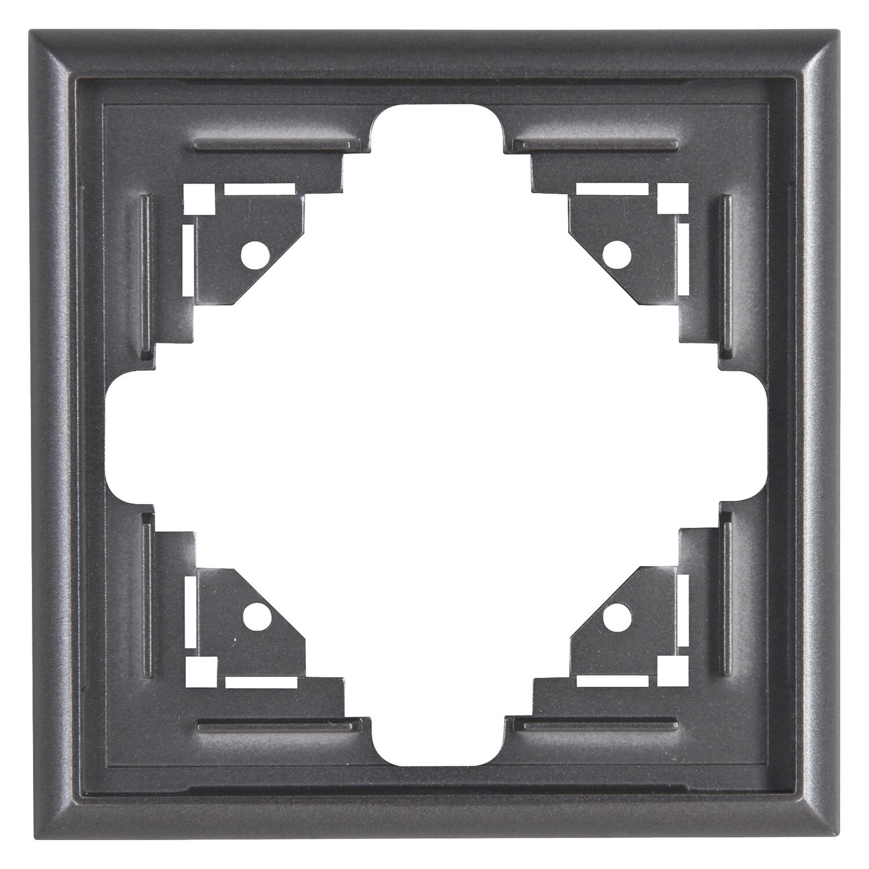Kopp Abdeckrahmen Rahmen Abdeckung zweifach 2 Fach Venedig Rahmen platin Neuware