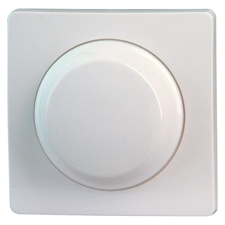 Kopp Dimmerabdeckung Wippen/Wechsel Paris Arktisweiß   Baumarkt > Elektroinstallation > Dimmer   Kopp