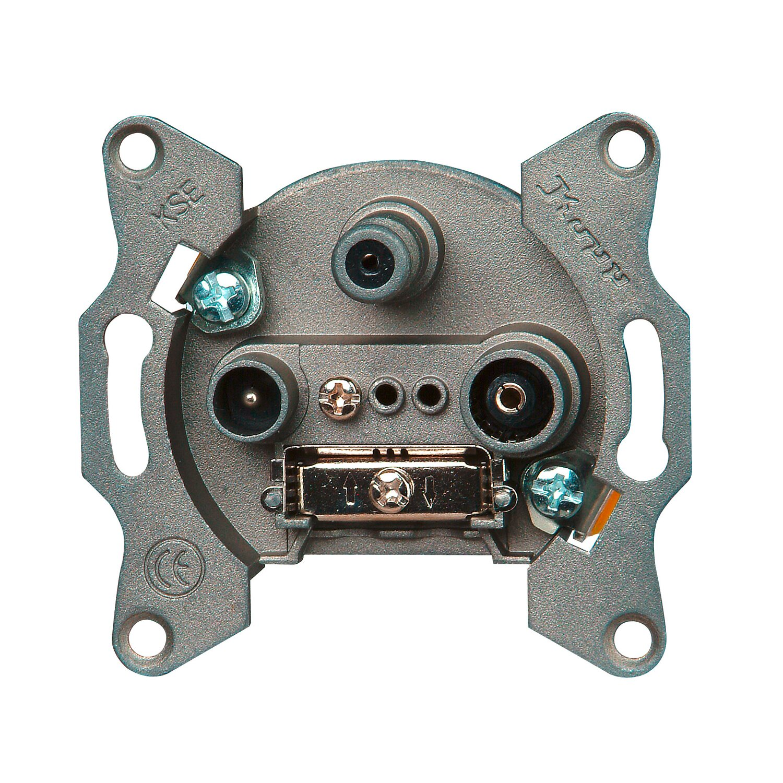 Kopp Antennensteckdose TV/RF/SAT Sockel