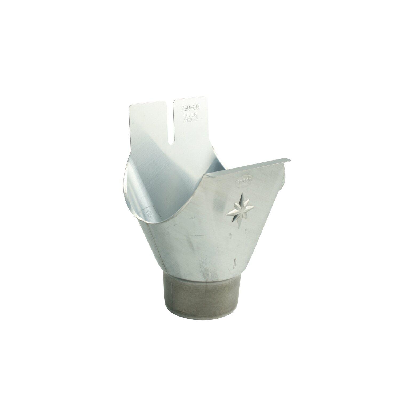 marley zink-dachrinnen-stutzen dn 125/80 kaufen bei obi