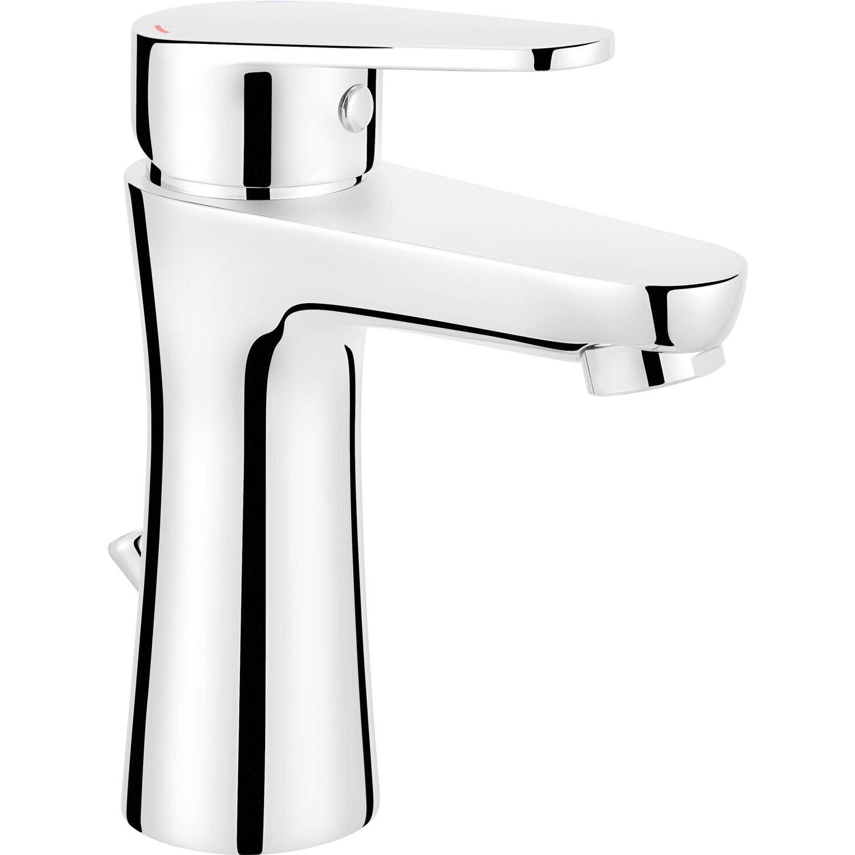 OBI Einhebelmischer-Waschbeckenarmatur Arun verchromt | Bad > Armaturen | Silberfarben | OBI Deco-Line