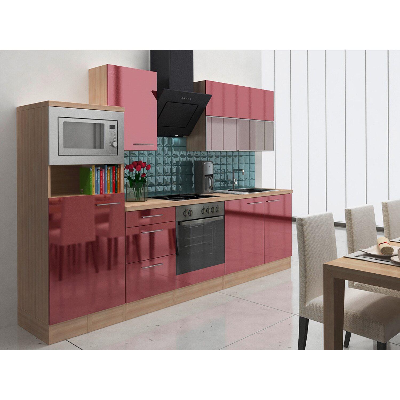 Respekta Premium Küchenzeile RP280ABOCMIS 280 c...