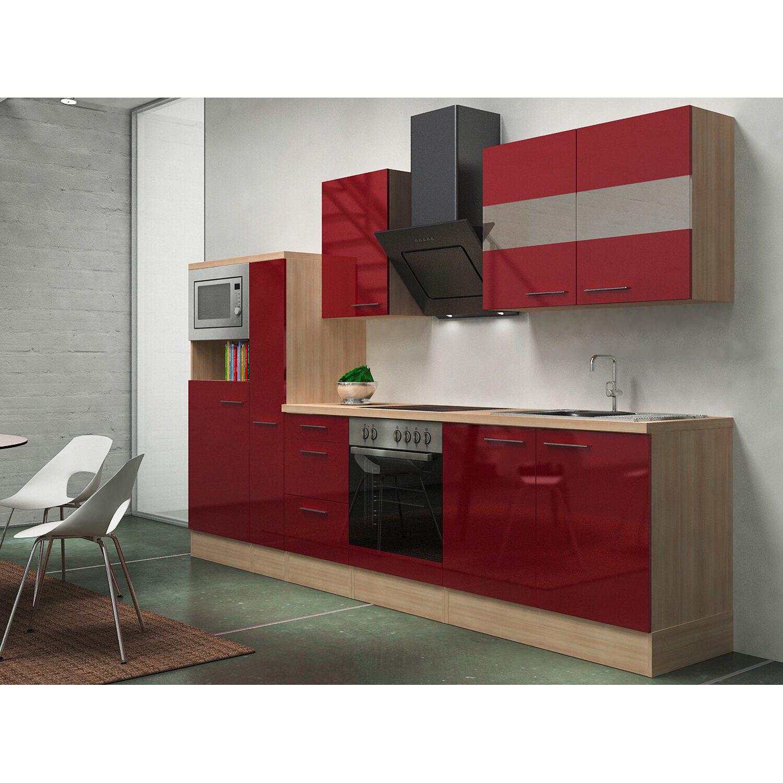 Respekta Premium Küchenzeile RP300ABOCMIS 300 c...