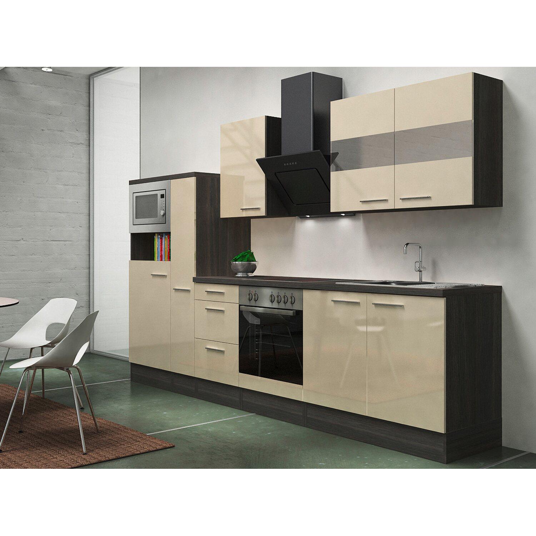 Respekta Premium Küchenzeile RP300EVACMIS 300 c...