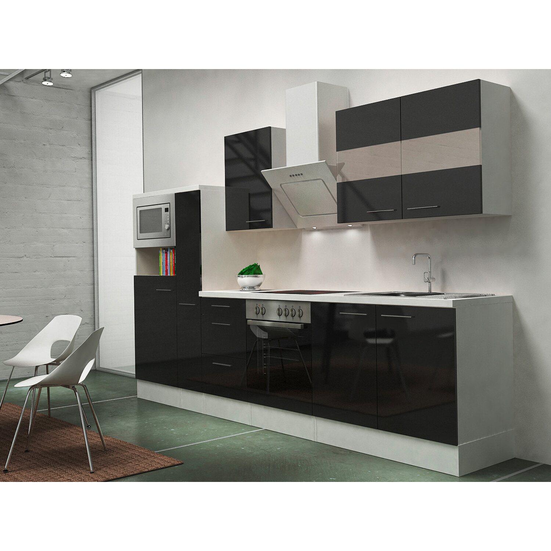Respekta Premium Küchenzeile RP300WSCMIS 300 cm...