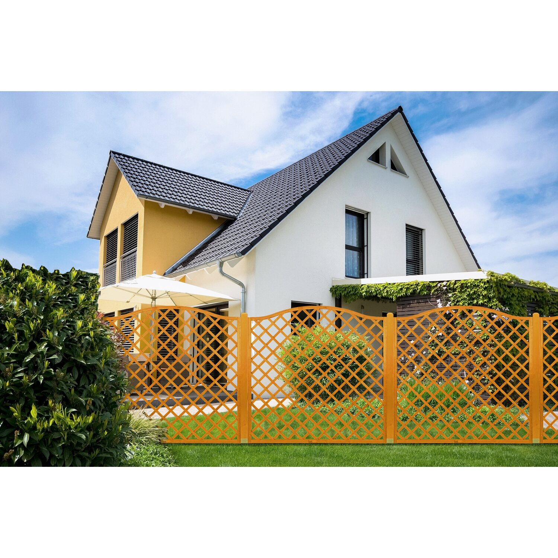 Sichtschutzzaun Element Pergola Pinienfarben 180 cm x 60 cm kaufen