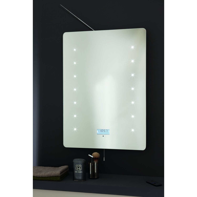 LED-Lichtspiegel New Soundwave 70 cm x 50 cm EEK: A+ kaufen bei OBI