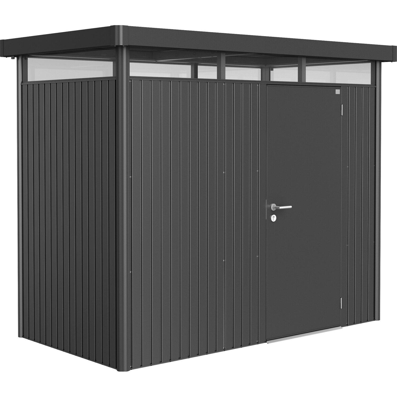 biohort ger tehaus highline gr e h1 dunkelgrau metallic standardt r kaufen bei obi. Black Bedroom Furniture Sets. Home Design Ideas
