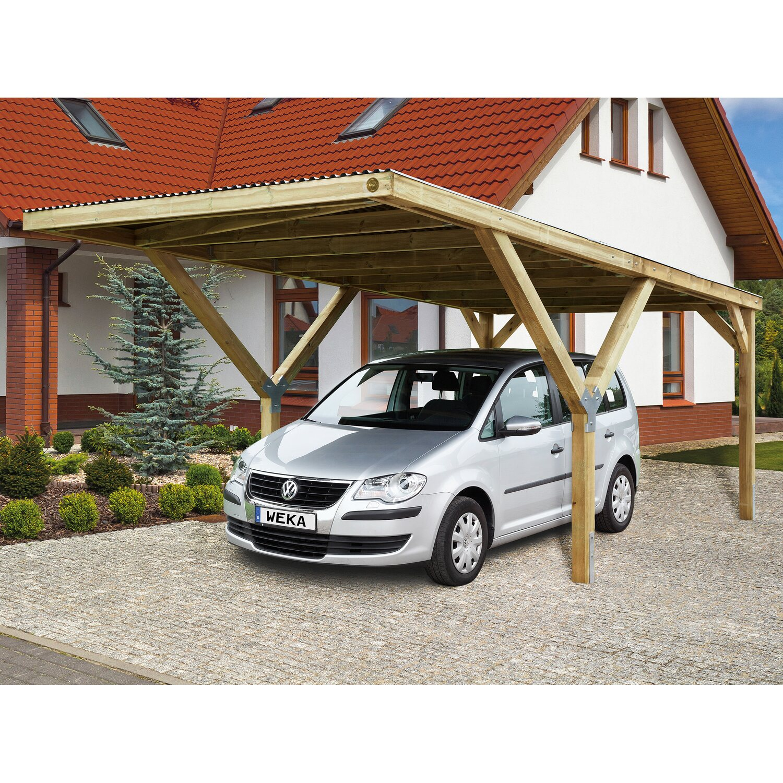 Weka Stahldach-Einzelcarport Mugello A 306 cm x 606 cm | Baumarkt > Garagen und Carports > Carports | Holz - Stahl | Weka