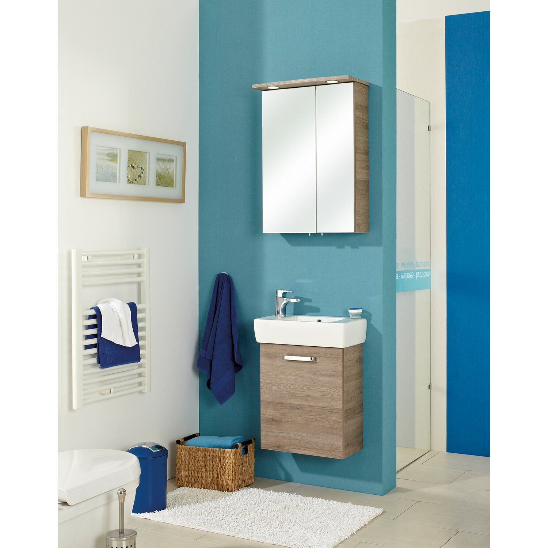 pelipal spiegelschrank 50 cm offenbach sanremo eiche eek a a kaufen bei obi. Black Bedroom Furniture Sets. Home Design Ideas
