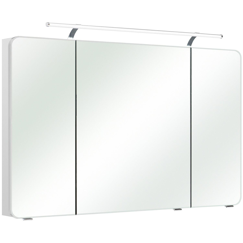 Pelipal Spiegelschrank EEK: A bis A++ 120 cm Fokus Weiß kaufen bei OBI