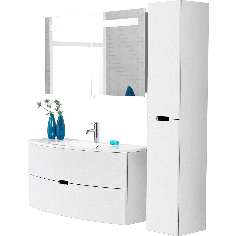 scanbad badm bel set 120 cm mit spiegelschrank 2 t rig. Black Bedroom Furniture Sets. Home Design Ideas