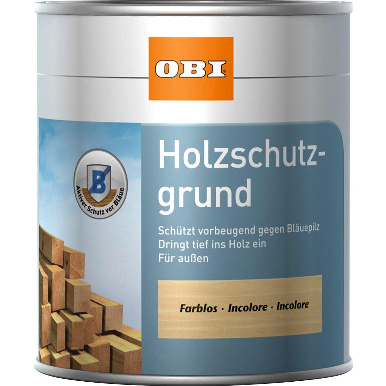 obi holzschutzgrund (ipbc) transparent 750 ml kaufen bei obi