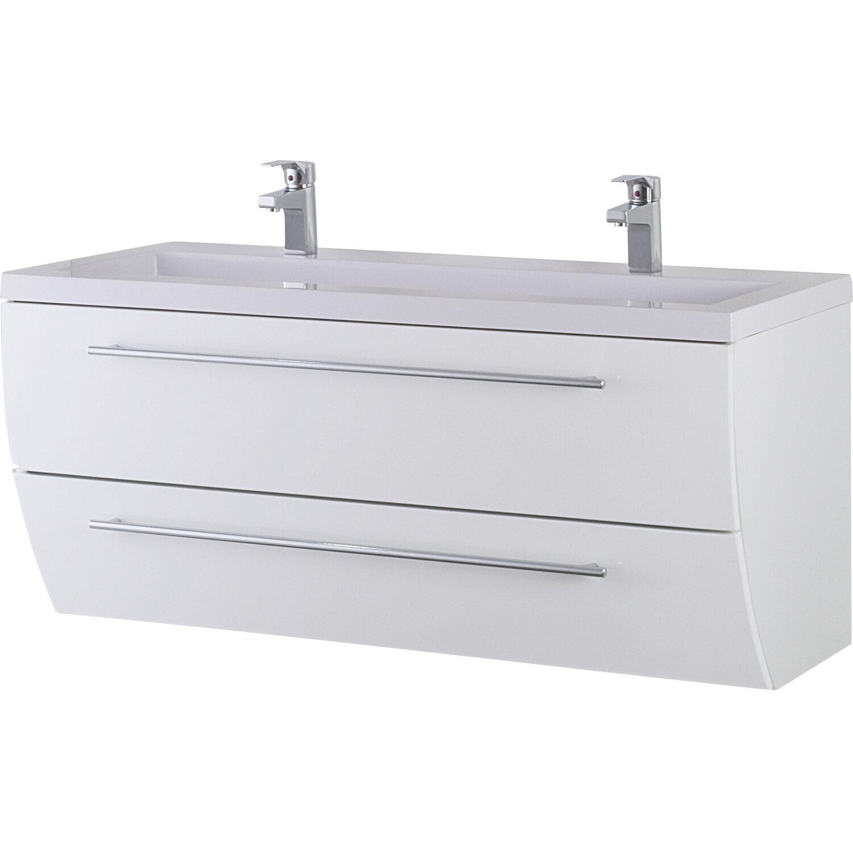 waschbeckenunterschrank sweet 120 cm wei kaufen bei obi. Black Bedroom Furniture Sets. Home Design Ideas
