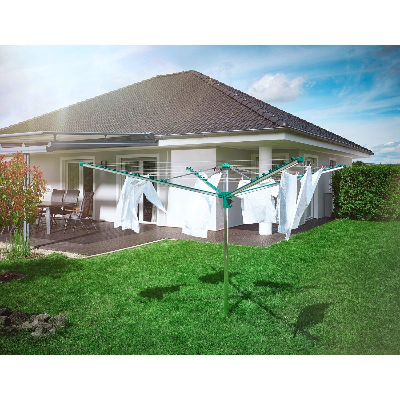 leifheit w schespinne linomatic 400 comfort kaufen bei obi. Black Bedroom Furniture Sets. Home Design Ideas