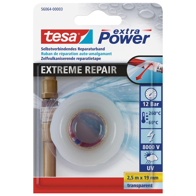 Tesa Extra Power Reparaturband Extreme Repair Transparent