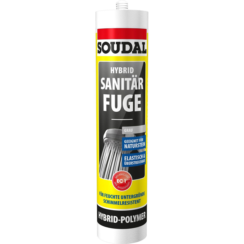 Soudal Hybrid Sanitär Fuge Grau 470 g