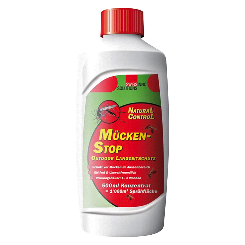 Swissinno m ckenstop konzentrat au en 500 ml kaufen bei obi for Mittel gegen fruchtfliegen in blumenerde