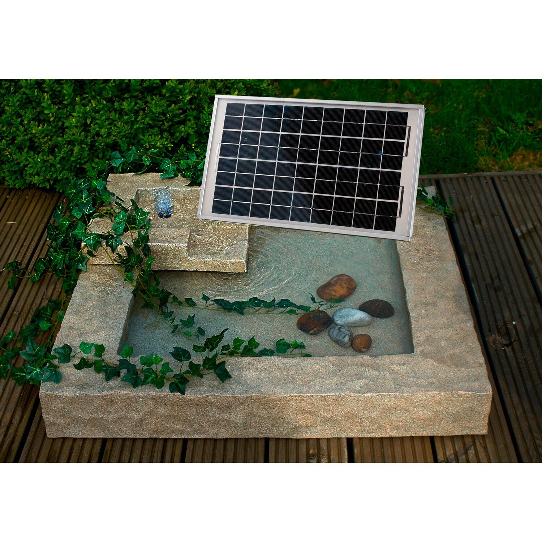 Heissner Solar Gartenbrunnen Laura Kaufen Bei Obi