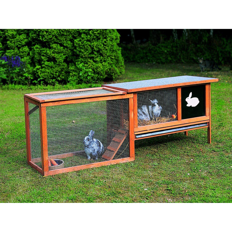 promadino freilaufgehege f r kaninchenstall mit klappe. Black Bedroom Furniture Sets. Home Design Ideas