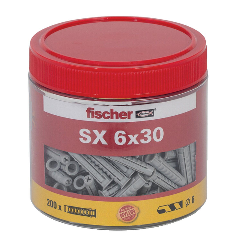Fischer  Dübel SX 6 x 30 Dose (200 ST)