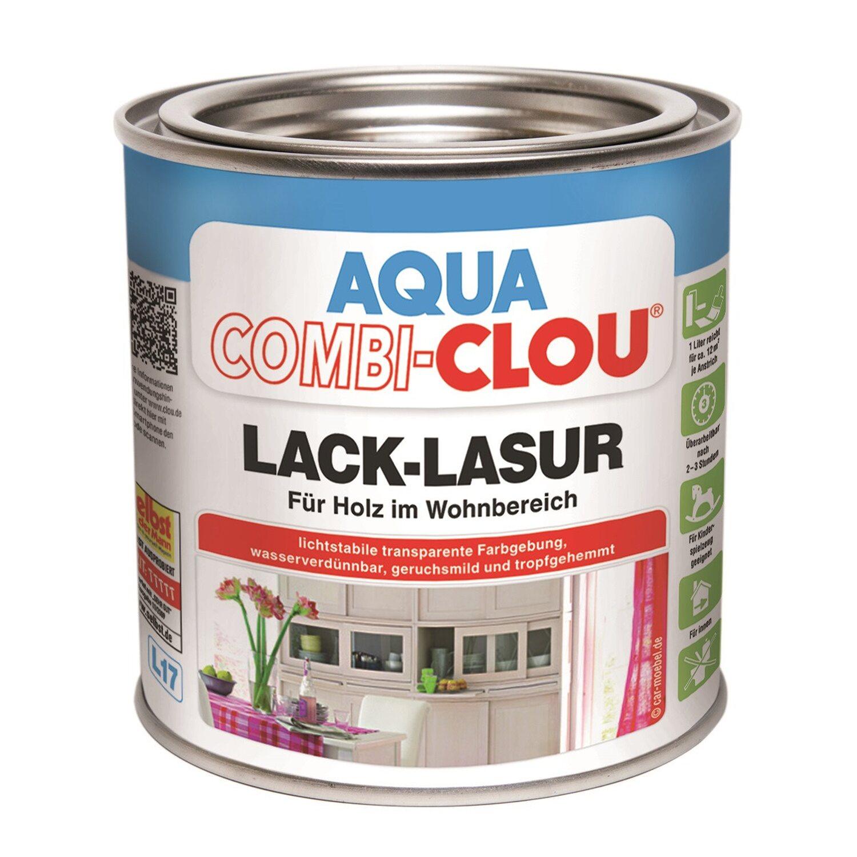 CLOU Aqua Combi-Clou Lack-Lasur Ahorn 375 ml