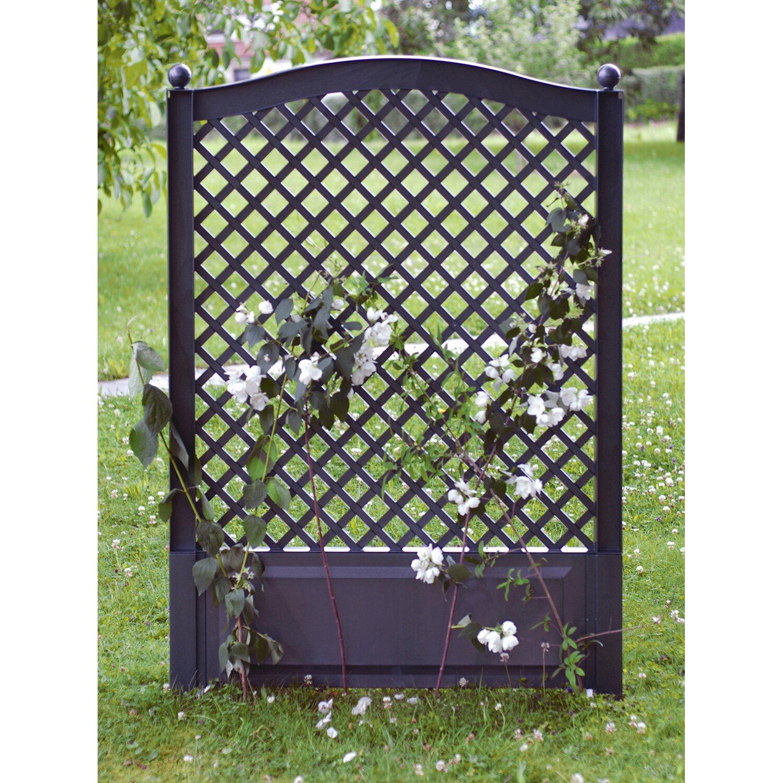khw spalier mit erdspie 100 cm anthrazit kaufen bei obi. Black Bedroom Furniture Sets. Home Design Ideas