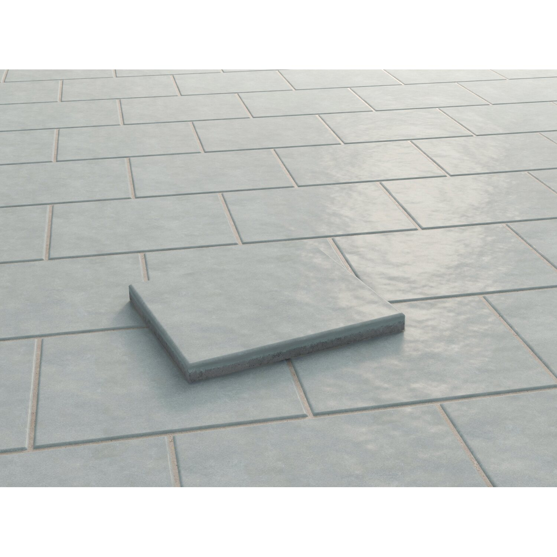 terrassenplatte beton faro silbergrau strukturiert 60 cm x 40 cm x 4