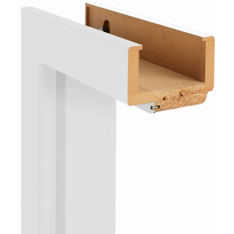 Sonstige Zarge Dekor Weiß 30 cm x 86 cm x 198,5 cm DIN Rechts