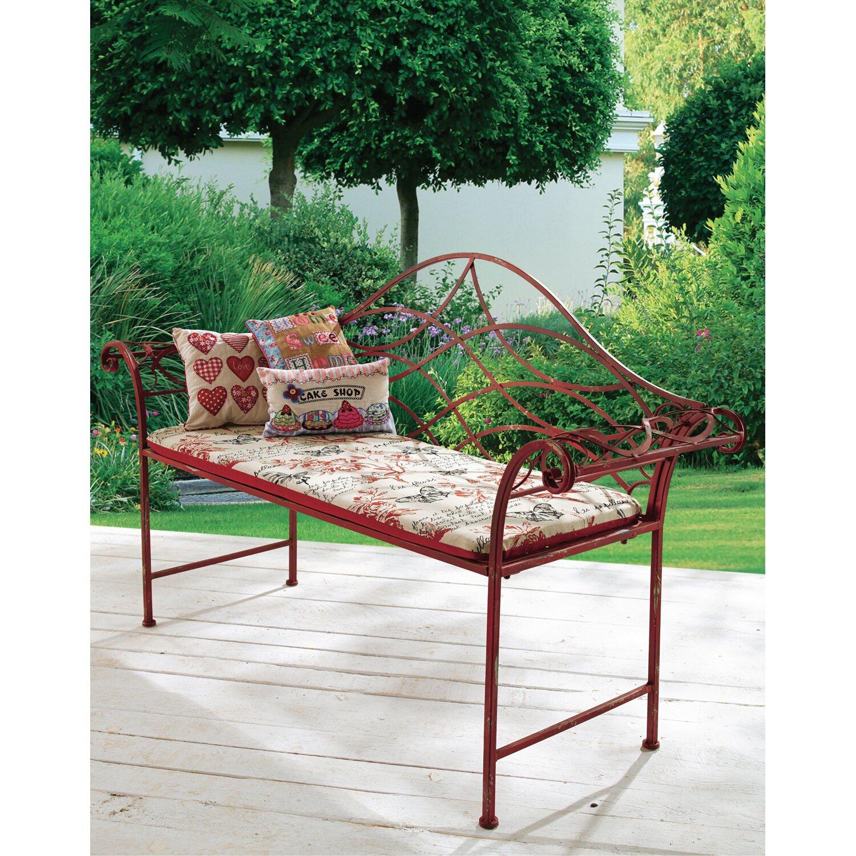 best of home gartenbank red 2 sitzer kaufen bei obi. Black Bedroom Furniture Sets. Home Design Ideas