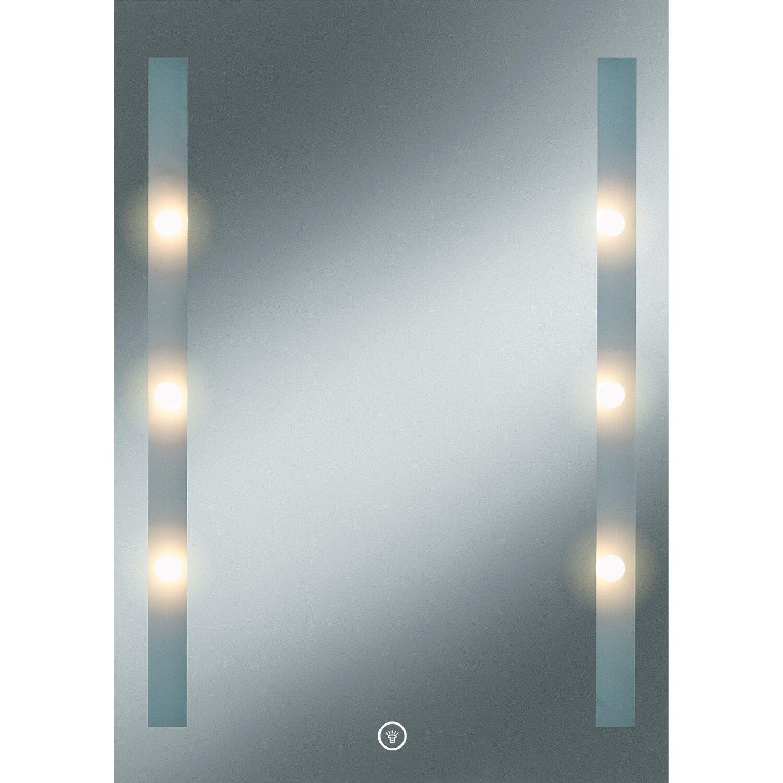 Kristall form eek a a led lichtspiegel moonlight 70 cm x 50 cm kaufen bei obi - Spiegel zuschnitt obi ...